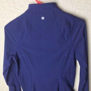 Lululemon Fresh Tracks Hero Blue Full Zip Jacket 6